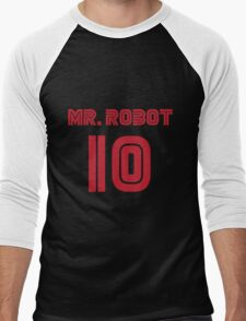 MR. ROBOT 10 Men's Baseball ¾ T-Shirt