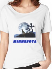 Minnesota Collector T-Shirt and Stickers Women's Relaxed Fit T-Shirt