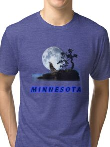 Minnesota Collector T-Shirt and Stickers Tri-blend T-Shirt