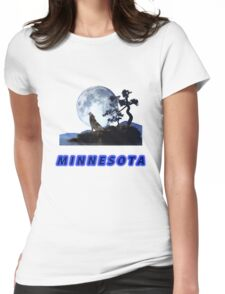 Minnesota Collector T-Shirt and Stickers Womens Fitted T-Shirt