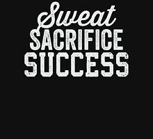 Sweat Sacrifice Success (White) Long Sleeve T-Shirt