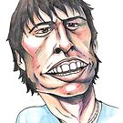 Dave Grohl Caricature by JohnnyGolden