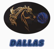 Dallas Premium T-shirt and Stickers by nhk999