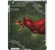 Tyrannosaurus Rex Muscle Study iPad Case/Skin