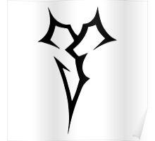 Michael Clifford Final Fantasy Tattoo (Zanarkand Abes Symbol) 'Home' Poster