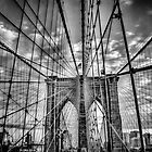 Brooklyn Bridge by Tom Piorkowski