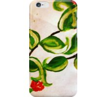 Beautiful vibrant floral cellphone case iPhone Case/Skin
