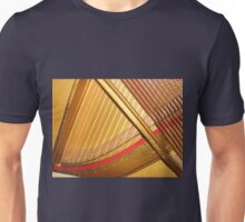 Harps of Gold - Inside the Piano Unisex T-Shirt