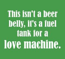 Pick Up Line T-Shirt: This isn't a beer belly... Kids Tee