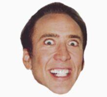 Nicholas Cage by dedesec
