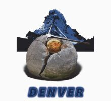 Denver Collectors T-Shirt and Stickers by nhk999