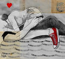 young lovers by Loui  Jover