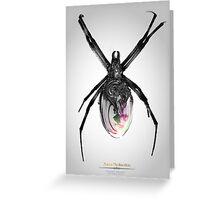 Perfume Arácnido Greeting Card