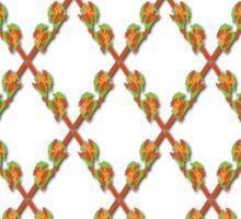 Chain Link Fence Sticker