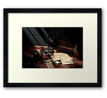 Shafts of Light Framed Print