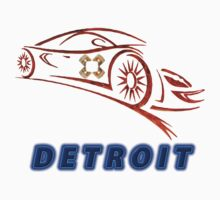 Detroit Collectors T-shirts and stickers by nhk999