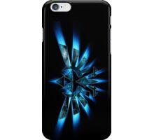 Triforce blue iPhone Case/Skin