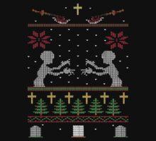 UGLY BUFFY CHRISTMAS SWEATER by LordOfTheShirt