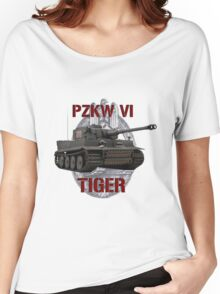 PZKW VI Tiger Women's Relaxed Fit T-Shirt