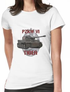 PZKW VI Tiger Womens Fitted T-Shirt