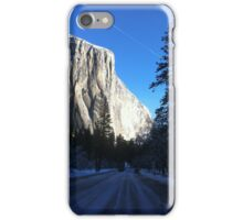El Capitan from the Road  iPhone Case/Skin