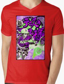 YUNG PRINCE Mens V-Neck T-Shirt