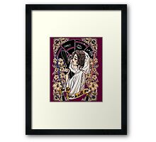 The force of the Princess Leia Framed Print