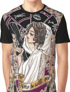 The force of the Princess Leia Graphic T-Shirt