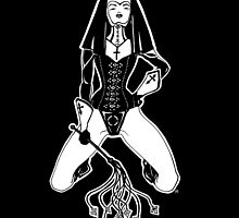 The Convent New Orleans Card/Print by Robert Tritthardt