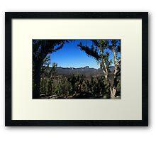 The Warrumbungles Framed Print