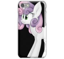Mare Sweetie Belle iPhone Case/Skin