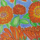 Last Night I Dreamt of Calendula by carol selchert