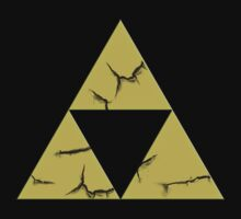 Cracked Triforce by Dylan Nonya