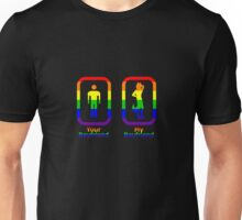 My Boyfriend is a Furry (Homosexual) Unisex T-Shirt