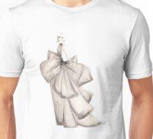 Fashion Illustration 'Silk Bows' Fashion Art Unisex T-Shirt