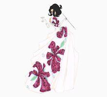 Fashion Illustration 'Tropical Silks' Fashion Art Unisex T-Shirt