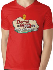 Adventure Time Lord 10th Mens V-Neck T-Shirt