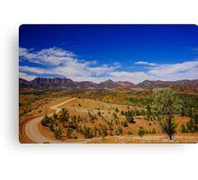 Road to the Pound  Canvas Print
