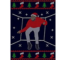 Ugly Sweater Christmas Hotline Bling Dance Photographic Print