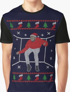 Ugly Sweater Christmas Hotline Bling Dance Graphic T-Shirt