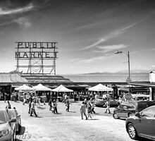 Pike's Place Market by rhlphoto