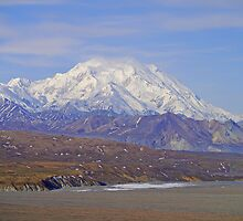 Across Denali National Park to Mt McKinley, Alaska, USA by Margaret  Hyde