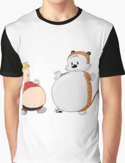 calvin and hobbes obess Graphic T-Shirt