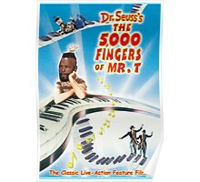 The 5,000 Fingers of Mr. T Poster