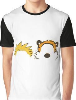 calvin and hobbes head Graphic T-Shirt