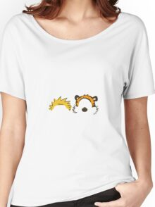 calvin and hobbes head Women's Relaxed Fit T-Shirt