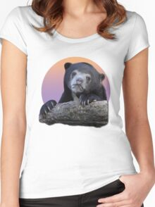 Confession Bear  Women's Fitted Scoop T-Shirt