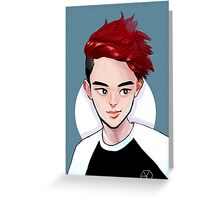 D.O. 88 WOLF Greeting Card