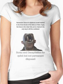 Leviathan Survival Guide. Women's Fitted Scoop T-Shirt