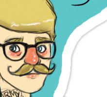 Hipsterlock: John Watson Sticker